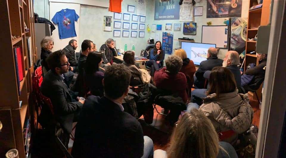 Francesca Reinero Amica degli Squali Corso Lezioni Informazioni Diving