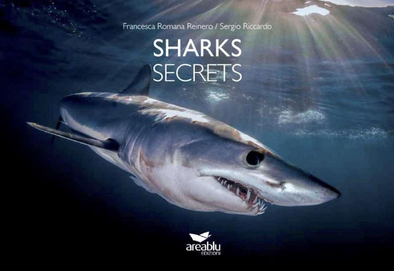 Sharks Secrets il libro sugli squali edito da area blu di Francesca Reinero e Sergio Riccardo